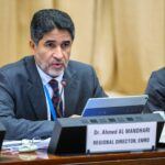 """""""We are now in the fourth wave of Covid-19 across the region."""": Dr Ahmed Al-Mandhari"""